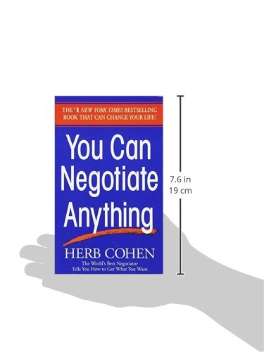 Learn how to negotiate anything