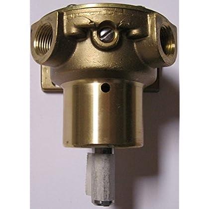 Image of Bilge Pumps Jabsco 2620 Series Bronze Pedestal Marine Flexible Impeller Pump, 3/8 inch NPT 45 Degree Angle Ports