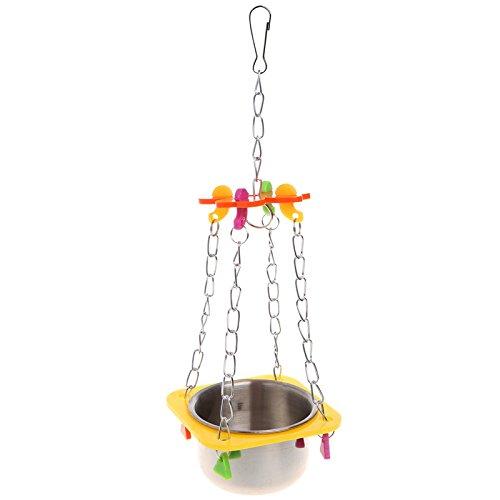 Mirror Feeder Perch Toy - 5