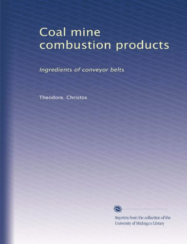Coal mine combustion products: Ingredients of conveyor belts