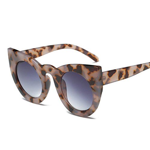 Aviator Retro Glasses Unisex Fashion Mirror Lens Sunglasses (G, - Flower Sunglasses D&g