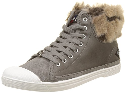 Le Temps des Cerises Basic 03, Baskets Femme Gris (Warm Grey)