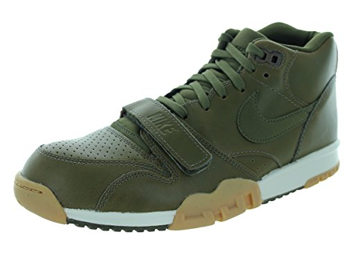 Green Air Mid Basketball US Men 1 Nike Shoe Trainer 9 0dBq1O