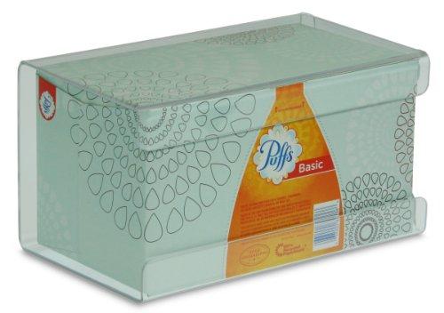 Wall Tissue Dispenser - TrippNT 51140 Plastic Wall Mountable Kleenex Box Holder, 9-1/2