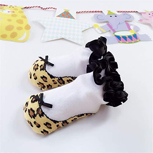 綿の靴下 子供靴下ベビーソックスフロア3Dモデリングソックス 冬の靴下 (Size : S)