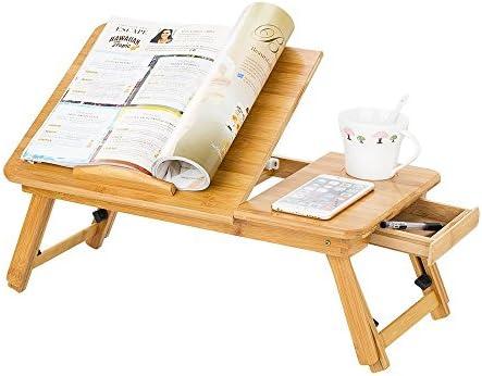 Mesa de cama plegable para ordenador ajustable soporte para ...