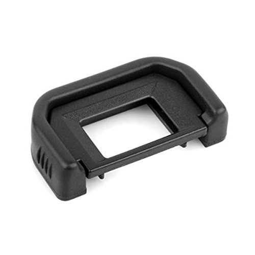 CLOUDSFOTO Rubber EyeCup Eyepiece EF For Canon 760D 750D 700D 650D 600D 550D 500D 450D 1100D 1000D 400D, Rebel XT XTi XS XSi T1i T2 T2i T3 T3i T4i T5i T6s T6i SL1