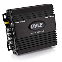 Pyle PSWNV480 24V DC to 12V DC Power Step Down 480W Converter with PMW Technology