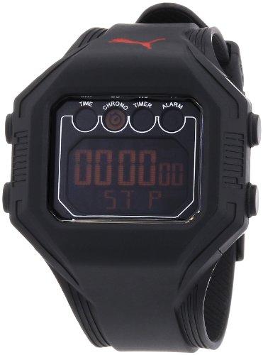 Puma Brown Watch - Puma Gents Watch Digital Bounce- L Black Quartz A.PU910771002
