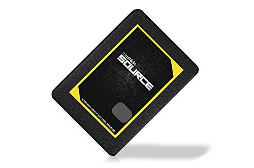 Mushkin Source - 1TB Internal Solid State Drive (SSD) - 2.5 Inch - SATA III - 6Gb/s - 3D Vertical TLC - 7mm - (MKNSSDSR1TB), Black by Mushkin (Image #1)