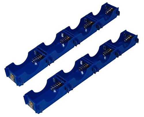 Pkg 8  D Cell Modular Battery Holders