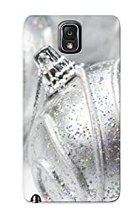 First-class Case Cover For Galaxy Note 3 Dual Protection Cover Silver Ornaments