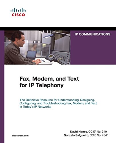 Fax, Modem, and Text for IP - Server Telephony