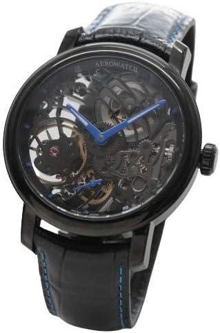 [アエロ] AERO スケルトン 手巻き式 Cobweb ブラックカラー 腕時計 A50931NO09 [正規輸入品]