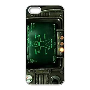 iphone5 5s case (TPU), fallout 3 pipboy Cell phone case White for iphone5 5s - FFFG4172213