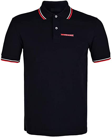 Prada - Polo - Polo - Homme Medium - Noir