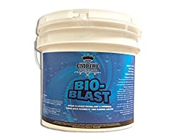 Bio-Blast – Best Natural, Non-Acidic Drain Line Cleaner - For Main Drain Lines, Sink & Floor Pipes, Sewers, Urinals & Toilets – Suitable For Home & Commercial Drain Lines (10 Pounds)