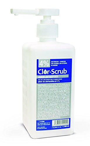 Clor-scrub Clorhexidina Jabonosa 4% Antiseptico 2