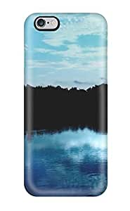CaseyKBrown Iphone 6 Plus Hybrid Tpu Case Cover Silicon Bumper Blue Sky Reflections