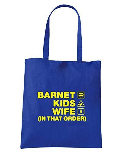 Borsa Blu WIFE ORDER BARNET WC1253 KIDS Royal Shopper AqBx8Awa6