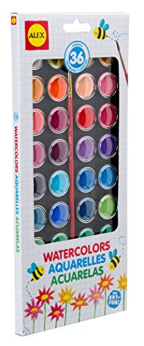 ALEX Toys Artist Studio 36 Watercolor Paints