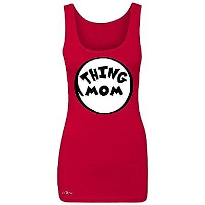Thing Mom Women's Tank Top Funny Halloween Costume Xmas Humor Dr. Cat Sleeveless