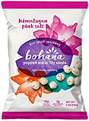 Bohana Pink Himalayan Salt, 6 Pack | As Seen On Shark Tank | Gluten-Free High-Protein All Natural Super Snack