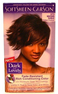 Dark & Lovely Color #373 Brown Sable (3 Pack)
