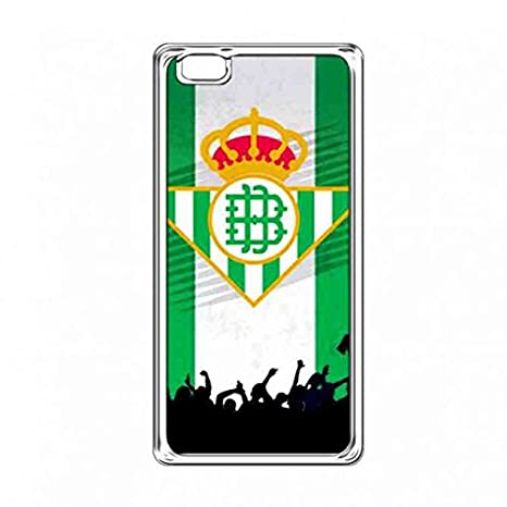 Real Betis logo carcasa funda,Clear HuaWei P8 Lite Real Betis Balompié carcasa,La