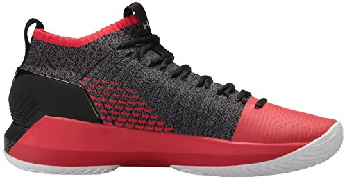 Rot Schwarz Armour Basketball 701 Seeker Men Under Ua Heat Shoes qCwO008S