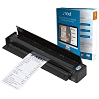 Fujitsu ScanSnap iX100 Ultra Portable  Scanner - USB, Wi-Fi, Lithium Ion Battery Powered, Document Scanner with Neat Receipt