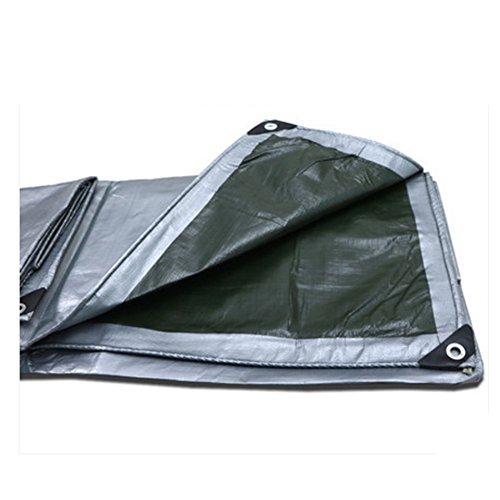 Tarpaulin NAN Revêtement de sol imperméable à l'eau forte de bâche d'argent pour le camping, la pêche, le jardinage et les animaux de compagnie (taille : 4*4m)