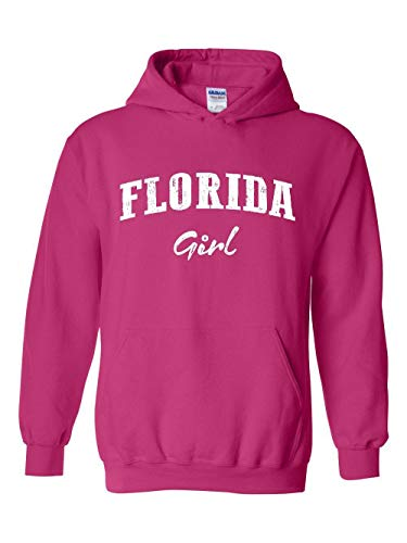 (Florida Girl Family Vacation Gift Orlando Unisex Hoodie (SHP) Heliconia)