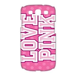 First Design Funny Love Pink Victoria Secret HARD Samsung Galaxy S3 I9300 Durable Case Kimberly Kurzendoerfer