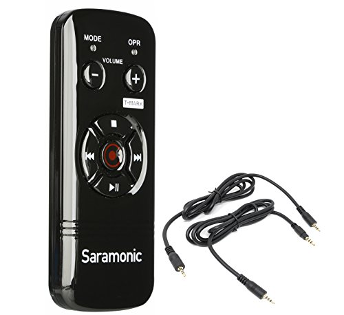 Saramonic RC-X Wired Remote Controller for Zoom H6, H5, H4n Pro, H2n, & Sony PCM-M10, PCM-D50, PCM-D100 Portable Digital Recorders by Saramonic