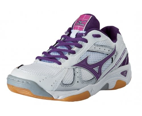 Mizuno Zapatillas Indoor Wave Twister 2 Blanco / Morado
