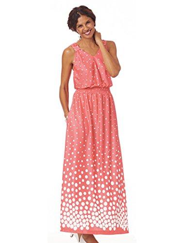 Le Corail Robe À Pois Femmes Amerimark