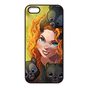 iPhone 5 5S Case Black Brother Bear Cell Phone Case Cover M7I4KM