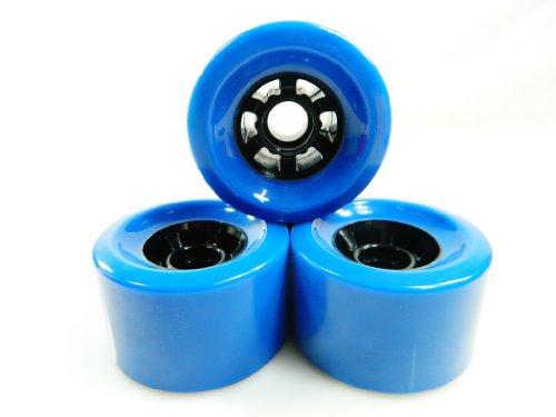 83mm Pro Longboard Cruiser Wheels Flywheels (Blue)