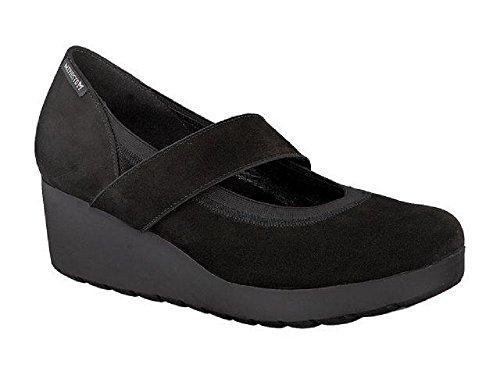 Mephisto Damen, Tamara, Black, Bucksoft 6900, Schuhe mit Keilabsatz
