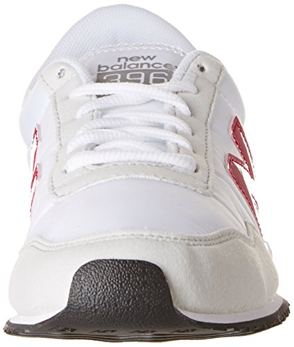 Adulte New red white U396 Baskets Balance Blanc Mixte Sportives Clásico xfTYSnqwf