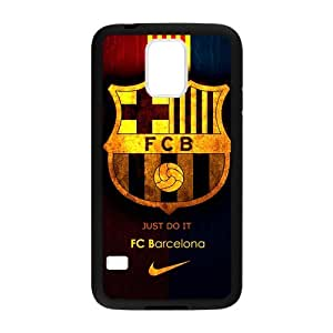 Fashion FC Barcelona Football Club Samsung Galaxy S5 Cell Phone Cases Cover Popular Gifts(Laster Technology)