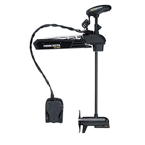 Minn Kota Ultrex Freshwater Bow-Mount Motor with 45-Inch Shaft, MEGA Down Imaging, and i-Pilot Link GPS (24-Volt, 80-Pound)