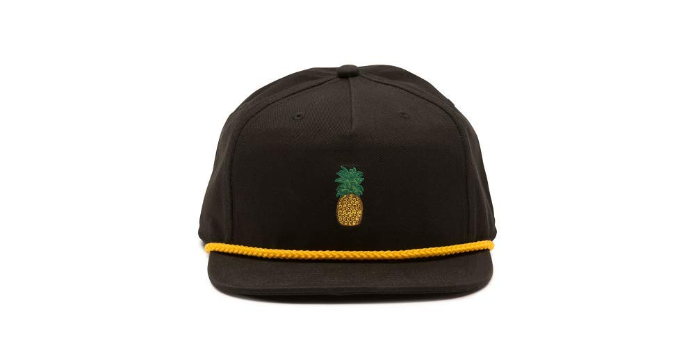 9210ee87289d5 Amazon.com  Vans Men s Pineapple Unstructured Hat Black One-Size  VN0A3TP5BLK  Sports   Outdoors