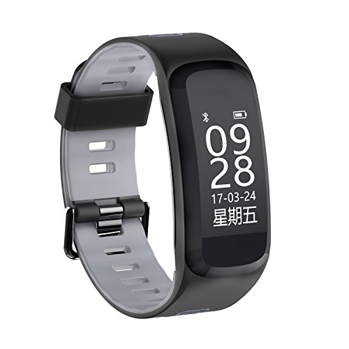 Price comparison product image Fitness Tracker with Heart Rate Monitor, Step Counter Watch, Pedometer, Sleep Monitor, Smart Watch for Women Men Kids, for iOS/Android Smartphone