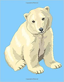 Amazoncom Polar Bear Sketchbook Polar Bear Bordered