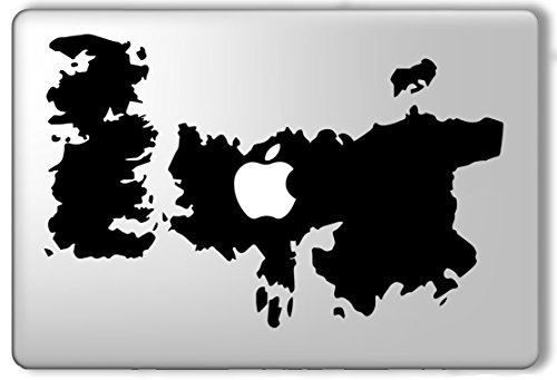 Game of Thrones Map - Apple Macbook Laptop Vinyl Sticker Decal