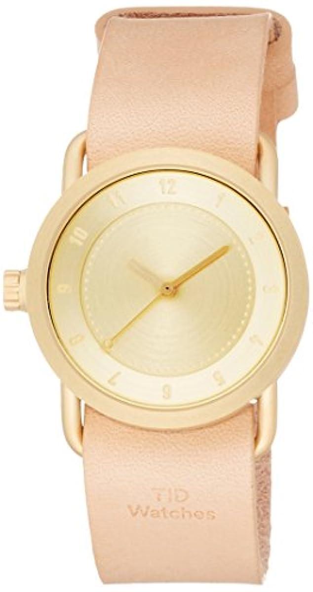 [해외] [T도] 손목시계 디자이너스 워치 NO.1 끌어 통해 TID01-36 GD/N 정규 수입품 베이지