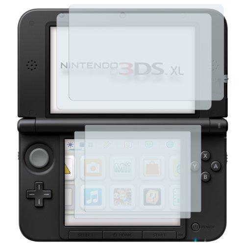 4 x mumbi Displayschutzfolie Nintendo 3DS XL Schutzfolie CrystalClear unsichtbar