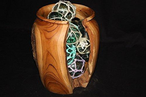 (Tikimaster Collection Teak Root Jar 12